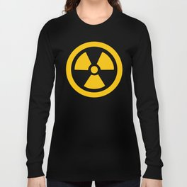 Yellow Radioactive Long Sleeve T-shirt