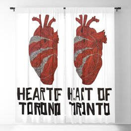 Heart of Toronto Blackout Curtain