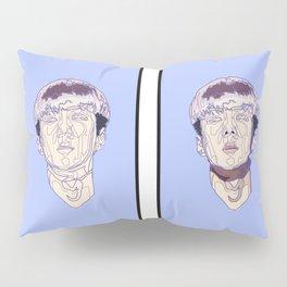 Double geometry Pillow Sham