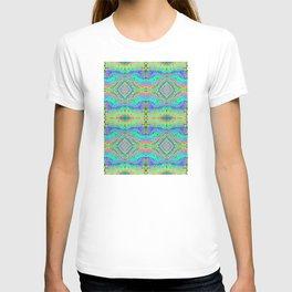 Flowing Life Art Fractal 3 Double T-shirt