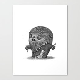 Lil Chewy Canvas Print