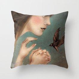 The Secret  Throw Pillow