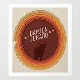 Damien Jurado Art Print