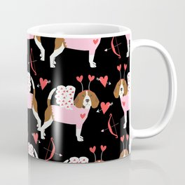 Beagle valentines day cute dog gifts pure breed rescue dogs must haves Coffee Mug
