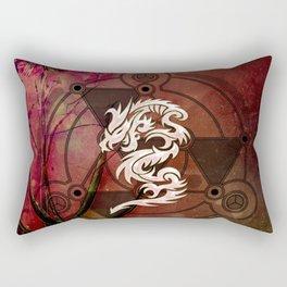 Wonderful chinese dragon Rectangular Pillow
