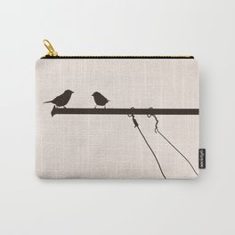 Sparrow Chat Carry-All Pouch