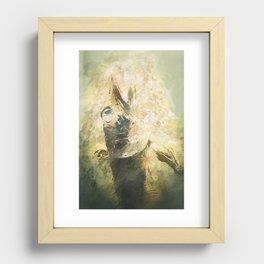 Lovecraft Fish Recessed Framed Print