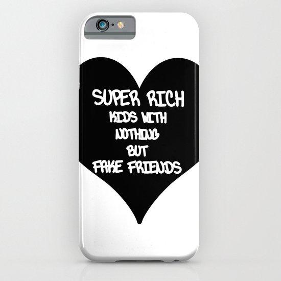 super rich kids iPhone & iPod Case