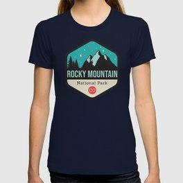 Rocky Mountains Park Badge T-shirt