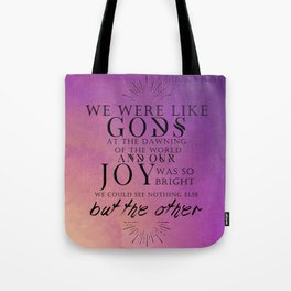 Nothing else but the Other Tote Bag