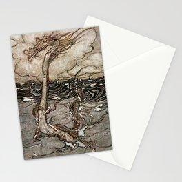 """Sea Serpent"" by Arthur Rackham Stationery Cards"