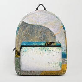 Japanese Modern Interior Art #104 Backpack