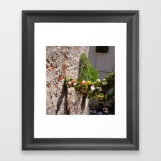 now before you and me (Porto Venere, Italy) Framed Art Print
