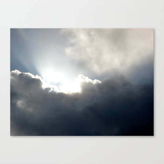 Jesus Light Canvas Print
