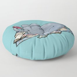 The Best Thing About Rainy Days Floor Pillow