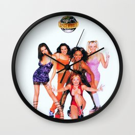 Spice World. Wall Clock