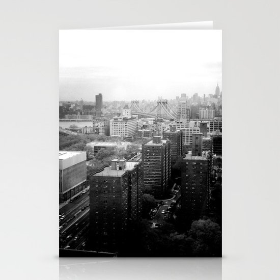 Brooklyn Black and White Stationery Cards