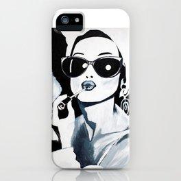 Sunglasses & Lipgloss iPhone Case