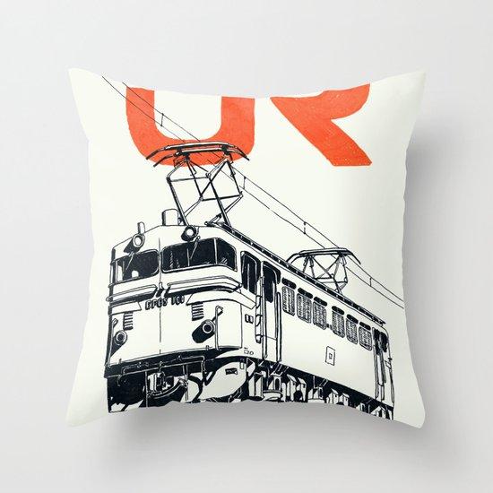 On Paper: JR EF65-100 Throw Pillow
