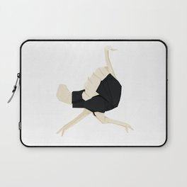 Origami Ostrich Laptop Sleeve