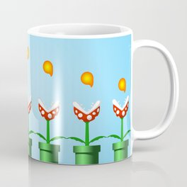 Pakkun Flower with Fire Balls Coffee Mug