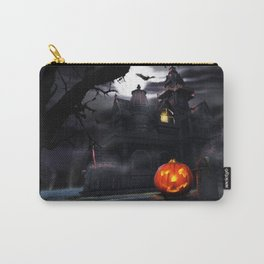 Happy Screaming Halloween Carry-All Pouch