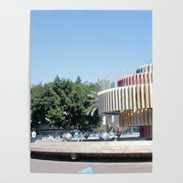 Tel Aviv photo - Dizengoff Square Poster