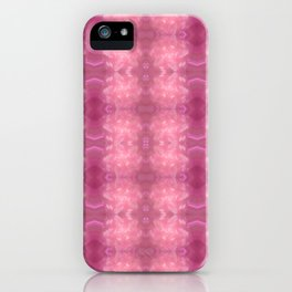 Soft marzipan pattern iPhone Case
