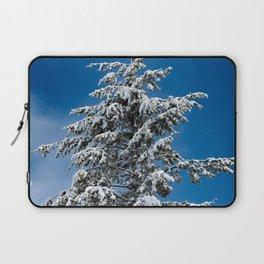 Winter Forest Fir Tree Snow IX - Nature Photography Laptop Sleeve