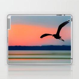 Seagull Sunset Abstract Laptop & iPad Skin