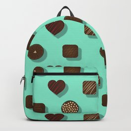 Box of Chocolates Pattern Backpack