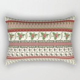 Mistletoe Ugly Sweater Rectangular Pillow