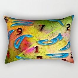 numero Rectangular Pillow