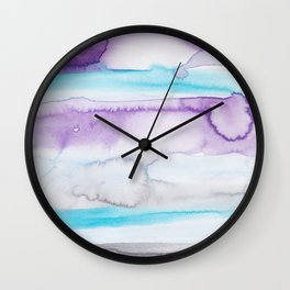 20  | Abstract Minimal Watercolor Painting | 191223 Wall Clock