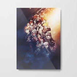 Danganronpa   Monokuma Metal Print