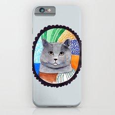 KITTY / GREY iPhone 6s Slim Case