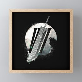 Fantasy Reborn - FF7 - Final Fantasy 7 remake Framed Mini Art Print