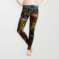 architecture Leggings featuring Rome architecture by jbjart