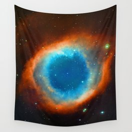 Eye Of God - Helix Nebula Wall Tapestry