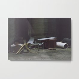 Discarded Metal Print