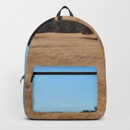 Fall Field Photography Print Backpack
