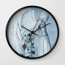 Hope Angel Wall Clock