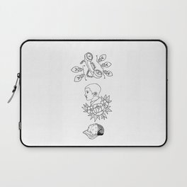 Science Fiction Character Illustration Laptop Sleeve