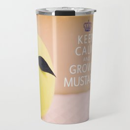 Keep Calm & Grow A Mustache Travel Mug