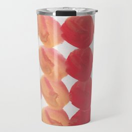 11  | 190408 Red Abstract Watercolour Travel Mug