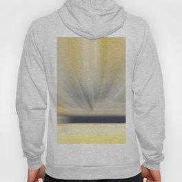 Charcoal Grey Yellow Abstract Hoody