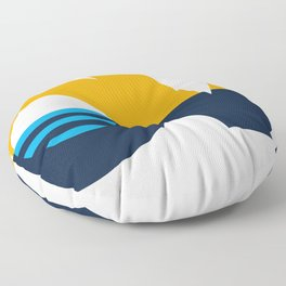 LOVE - People's Flag of Milwaukee Floor Pillow