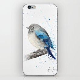 Round and Happy Bird iPhone Skin