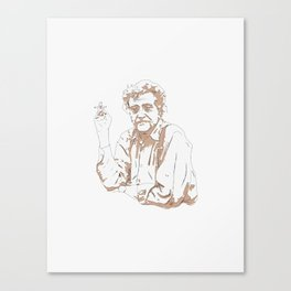 So it goes * Vonnegut  Canvas Print