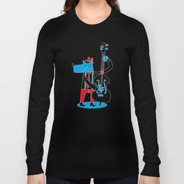 Jazzy Dog I Long Sleeve T-shirt